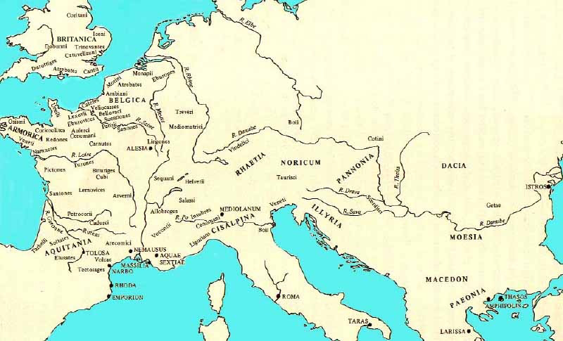 Gaul World Map.Coins Of Celtic Kingdoms